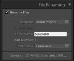 File Renaming